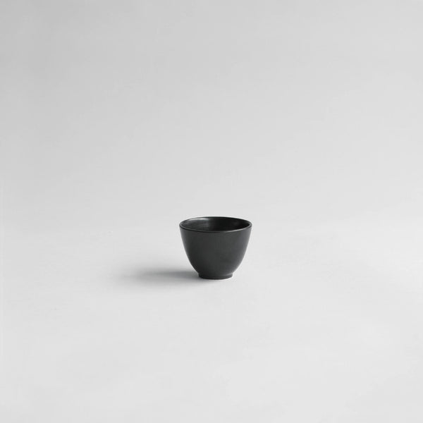 Saigon Teacup, Matt Black