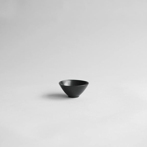Ritual Small Bowl For Spa Matt Black - Nom Living