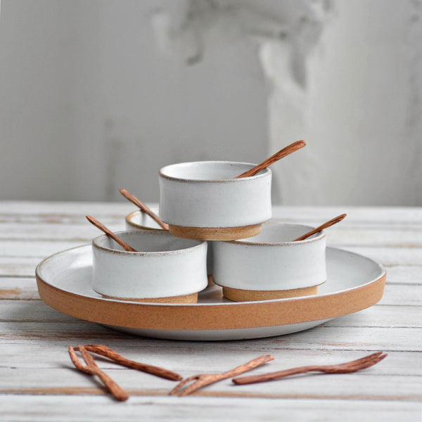 Nom Living - Stoneware Stackable Sharing Set