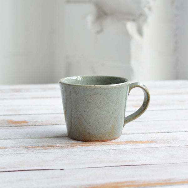 Stoneware Coffee Mug, Celadon Grey - Nom Living