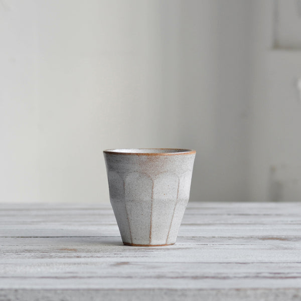 Stoneware ceramic Facet Collection, Tumbler, Cup, Small - Nom Living