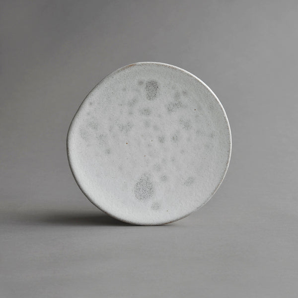 Organic Starter Plate Platter Medium, Glass Glaze - Nom Living