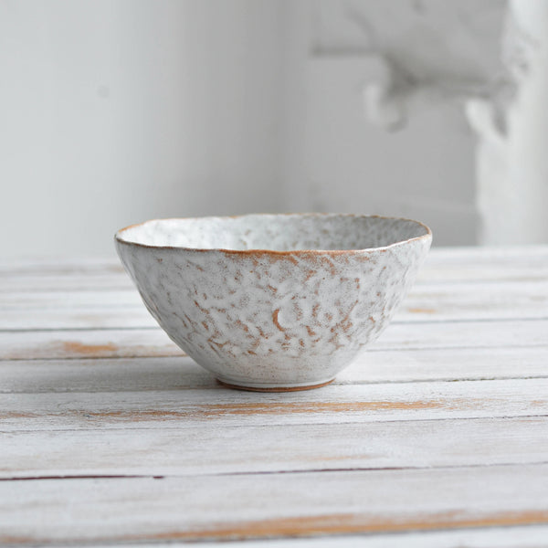 Nom Living Hand Moulded Stoneware Breakfast Bowl Cereal
