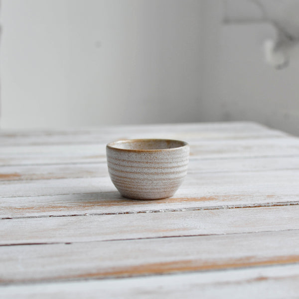 Stoneware Mini Round Condiment Dip Bowl - Nom Living