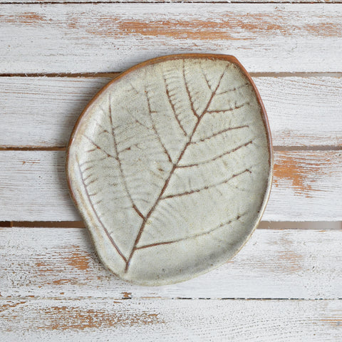 Leaf Plate Small, Earth Green