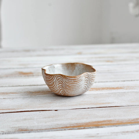 Scalloped Mini Bowl