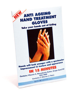 Skin Benefits - Anti Ageing Hand Treatment Gloves - Amirose London