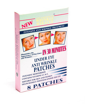 Wrinkle Miracle - Under Eye Anti Wrinkle Patches Intensive Moisturiser - Amirose London
