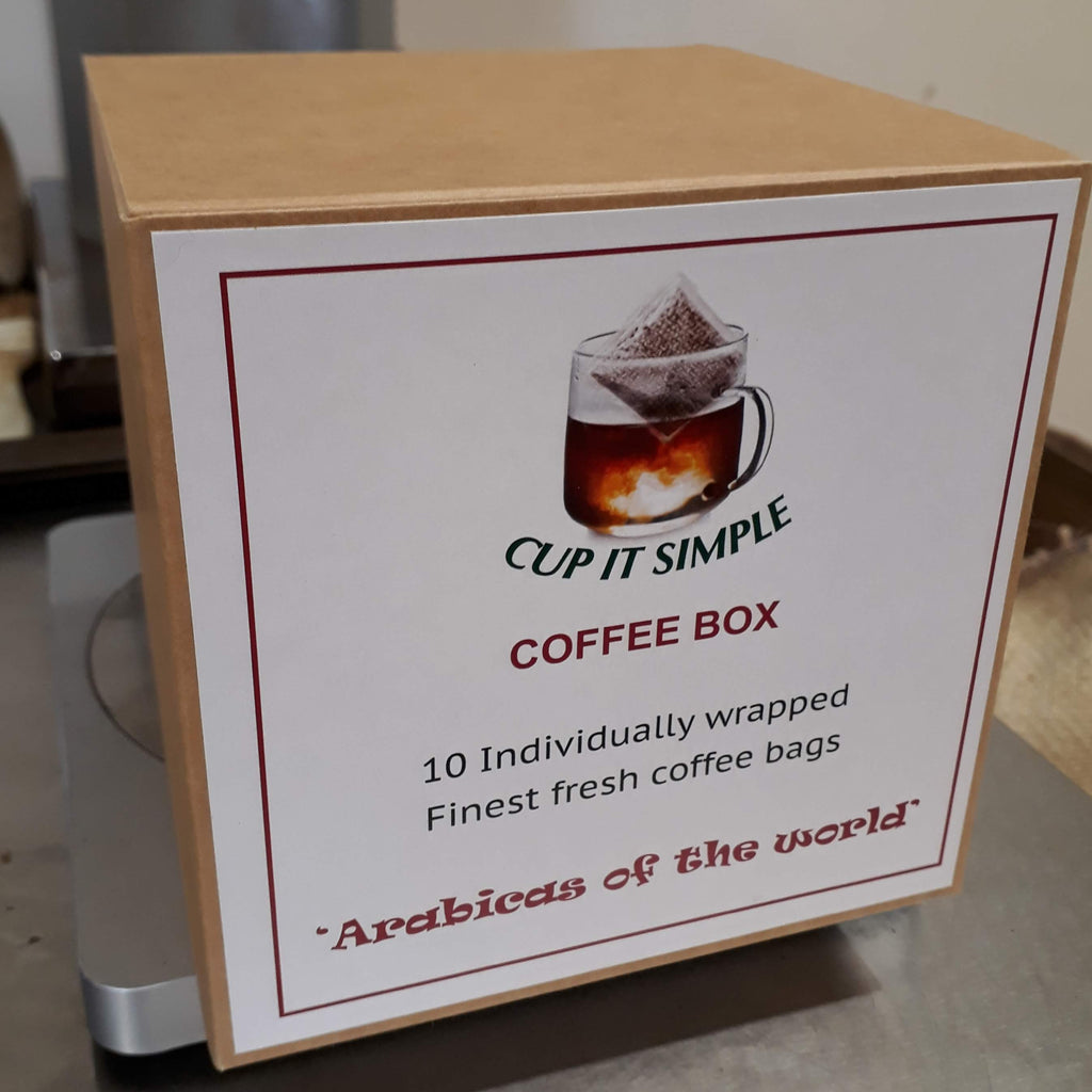 Coffee Bag Box of 10 _ Arabicas of the World - Well Roasted Coffee