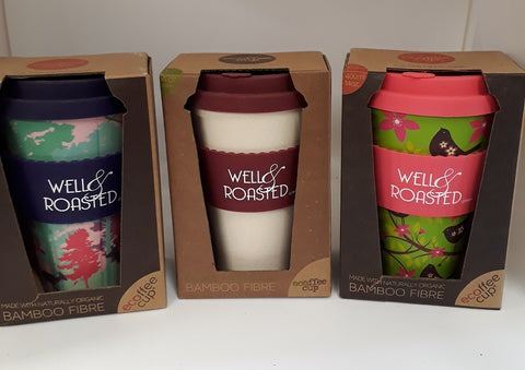 Eco Reuse Bamboo Cup 14oz - Well Roasted Coffee