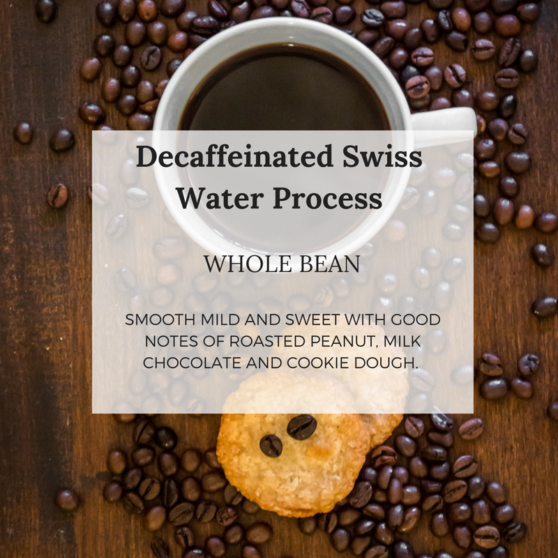 Decaffeinated Coffee Swiss Water Process - Well Roasted Coffee