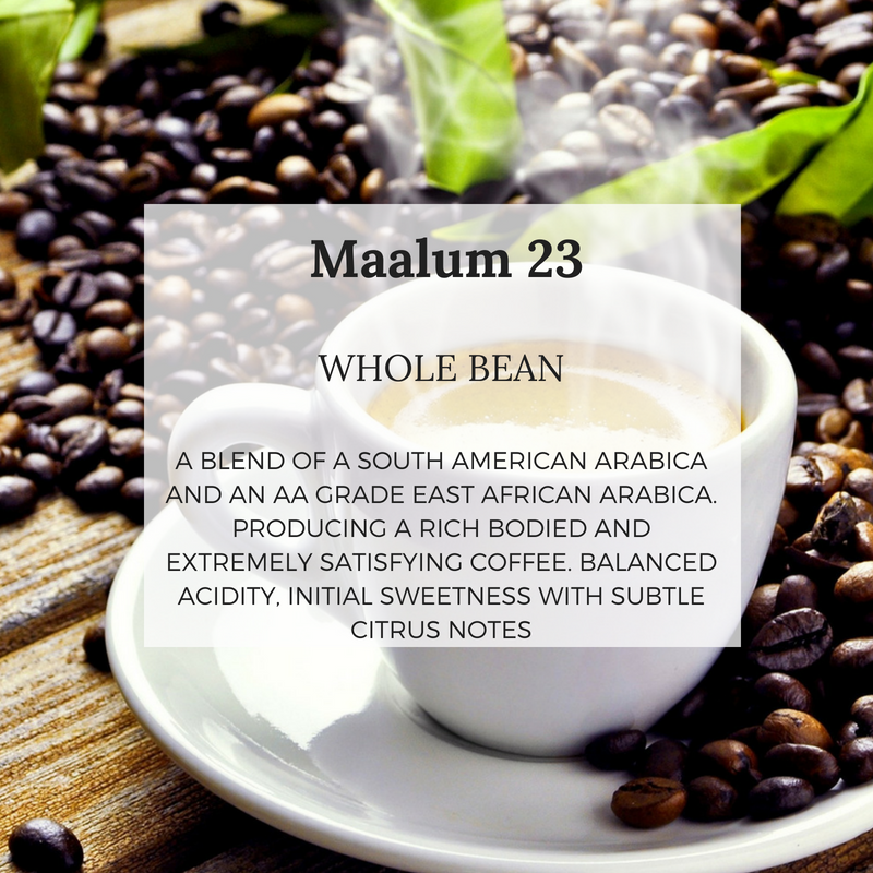 Maalum 23 - Well Roasted Coffee