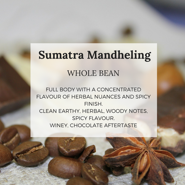 Sumatra Mandheling - Well Roasted Coffee