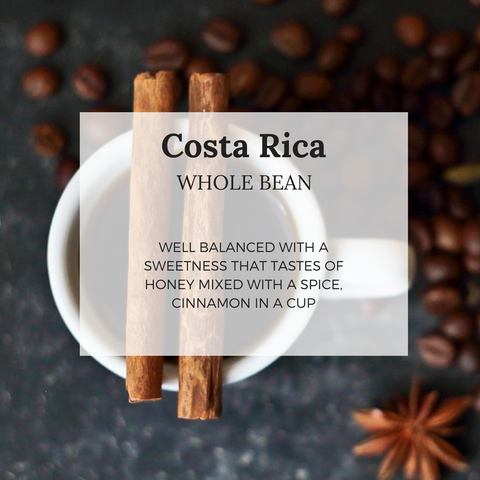 Costa Rica - Well Roasted Coffee