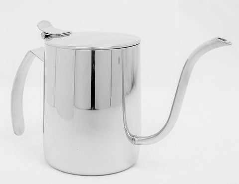 Tiamo 600ml Stainless Steel Coffee Dripper Pouring Kettle - Well Roasted Coffee