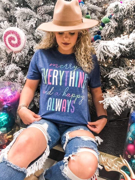 Merry Everything | Vintage Navy