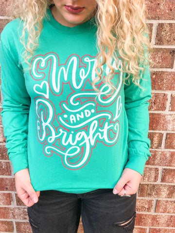 Merry & Bright | Long-sleeve