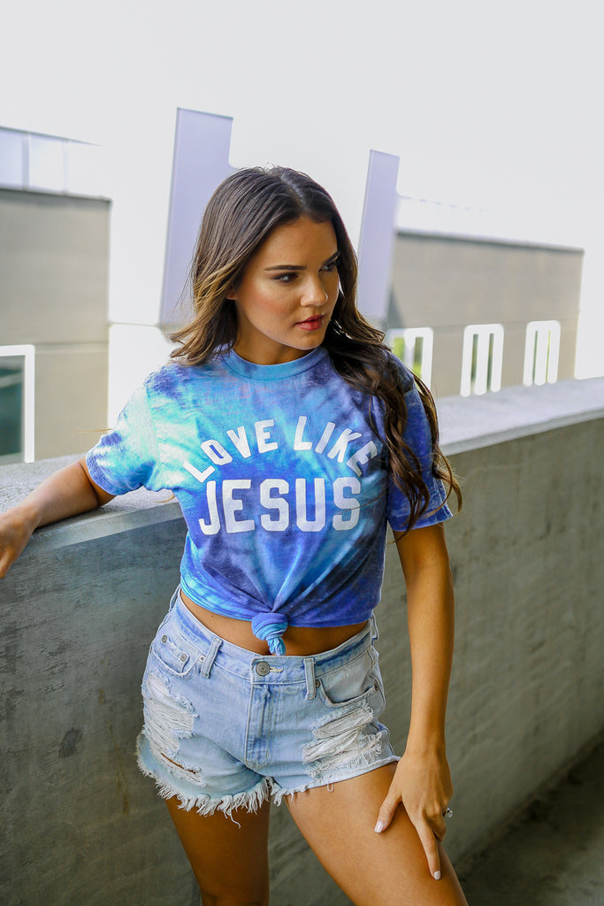 Festival | Love Like Jesus | Sea Blue | Short Sleeve