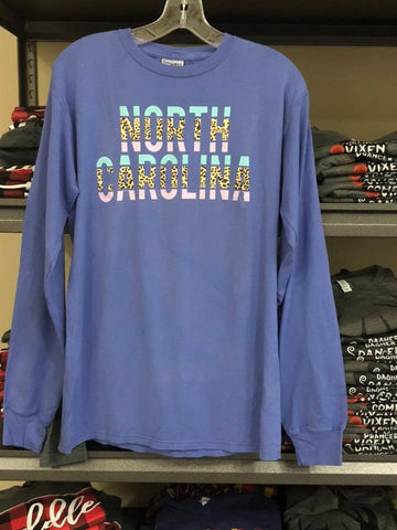 North Carolina | Blue |  Long Sleeve