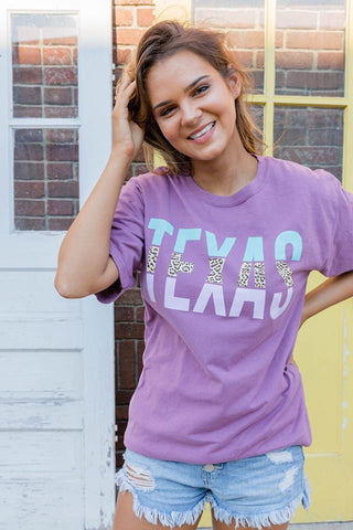 Texas | Plum Raisin | Short Sleeve