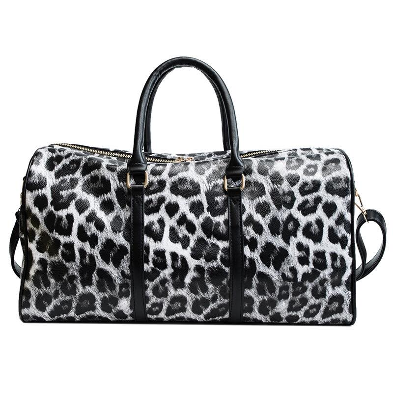The Amie Duffle | Leopard