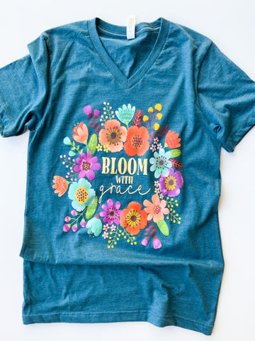 Bloom With Grace | Heather Deep Teal