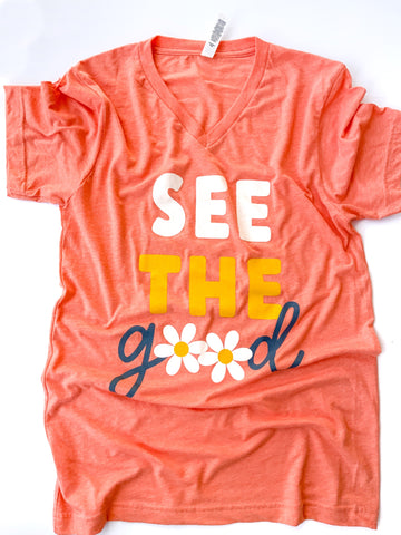 See The Good | Orange Triblend