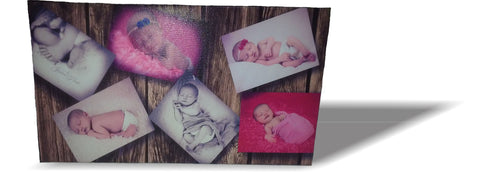 10X18in Gallery Wrap Canvas Print 1-6 pics - Perfection Airbrushing