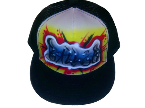 """BALLER"" Name Design Hat - Perfection Airbrushing"