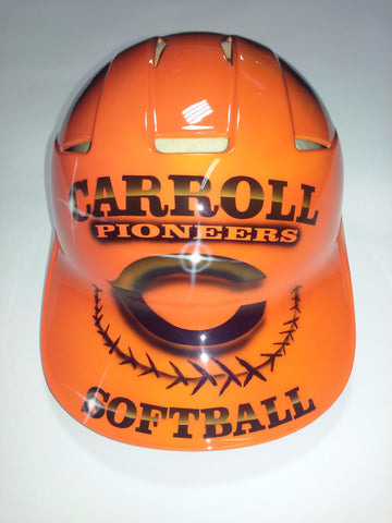 Customizable Softball Batting Helmet - Perfection Airbrushing