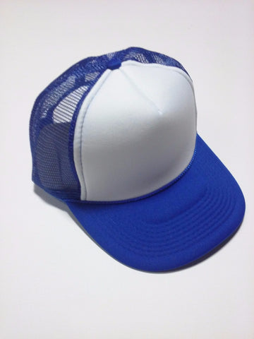 OTTO BRAND Trucker Hat Royal Blue/ White - Perfection Airbrushing