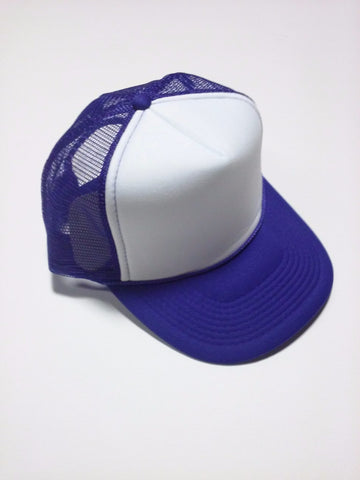 OTTO BRAND Trucker Hat Purple/ White - Perfection Airbrushing