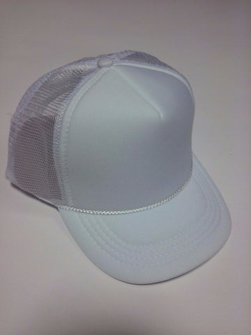 OTTO BRAND Trucker Hat White - Perfection Airbrushing