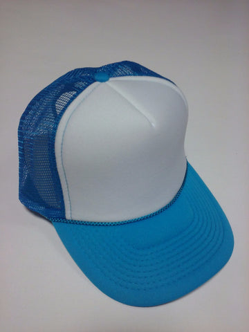 OTTO BRAND Trucker Hat Neon Blue - Perfection Airbrushing