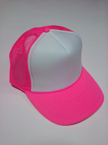 OTTO BRAND Trucker Hat Neon Pink - Perfection Airbrushing