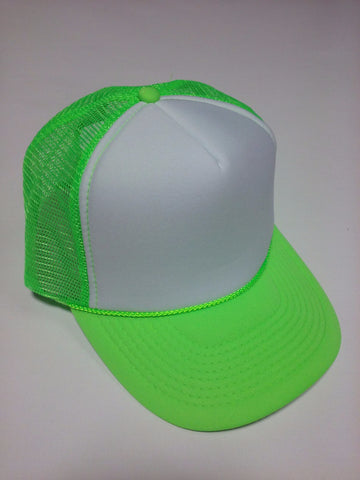 OTTO BRAND Trucker Hat Neon Green - Perfection Airbrushing