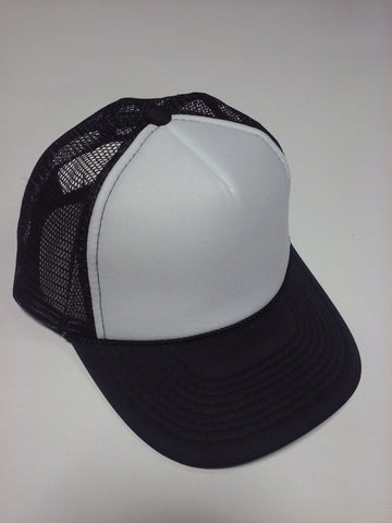 OTTO BRAND Trucker Hat White/Black - Perfection Airbrushing