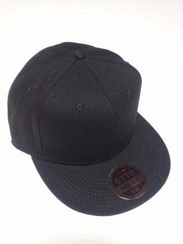 OTTO BRAND Snapback Hat Black - Perfection Airbrushing