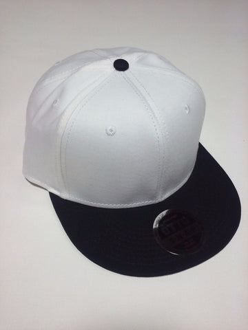 OTTO BRAND Snapback Hat Black/ White - Perfection Airbrushing