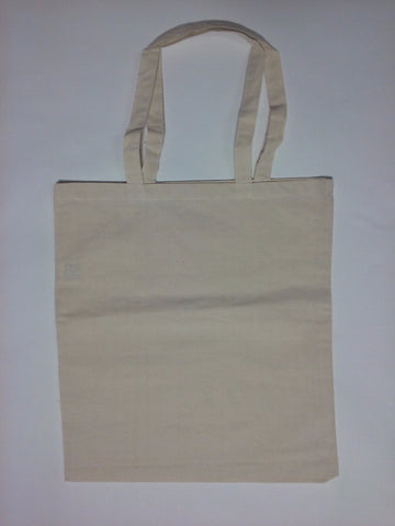 Blank Canvas Tote Bags Natural - Perfection Airbrushing