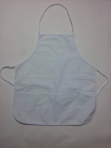 Blank Aprons White - Perfection Airbrushing