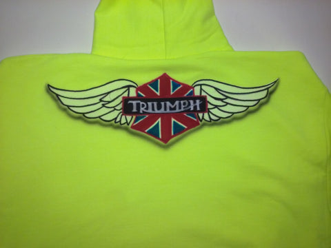 Airbrushed TRIUMPH Motorcycle T-Shirt or Hoodie