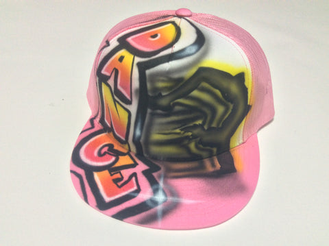 Dance Design hat - Perfection Airbrushing