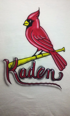 St. Louis Cardinals TShirt or Hoodie - Perfection Airbrushing