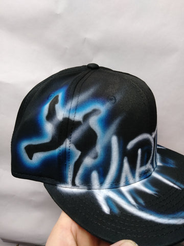Hip Hop Dance hat - Perfection Airbrushing