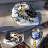Pittsburgh Penguins Hockey Mask WELDING Helmet - Perfection Airbrushing