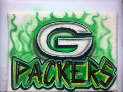 Green Bay Packers Microfiber Memory Foam Mat - Perfection Airbrushing