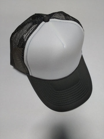 OTTO BRAND Trucker Hat White/Grey - Perfection Airbrushing