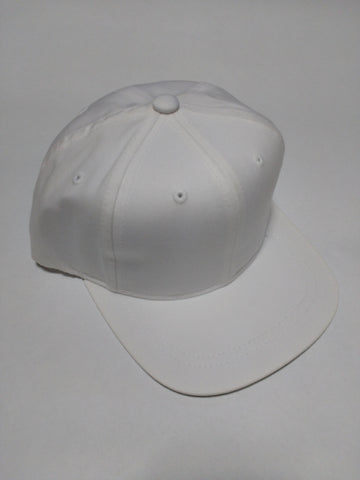 Youth Snapback Hat White ages 2-6