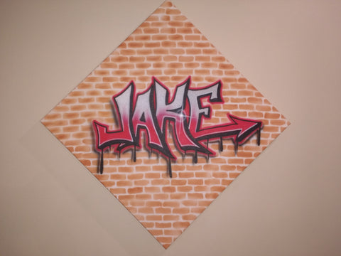 Graffiti Name/Word on Gallery Style Canvas - Perfection Airbrushing